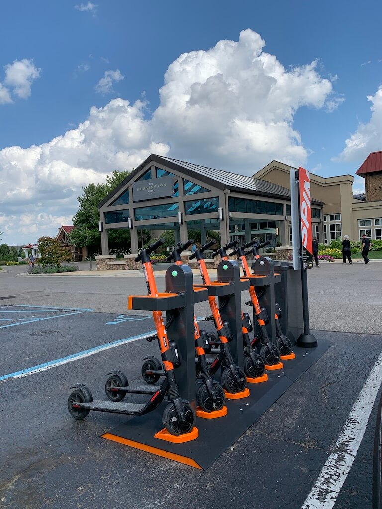 Swiftmile Electric Scooter Charging Station