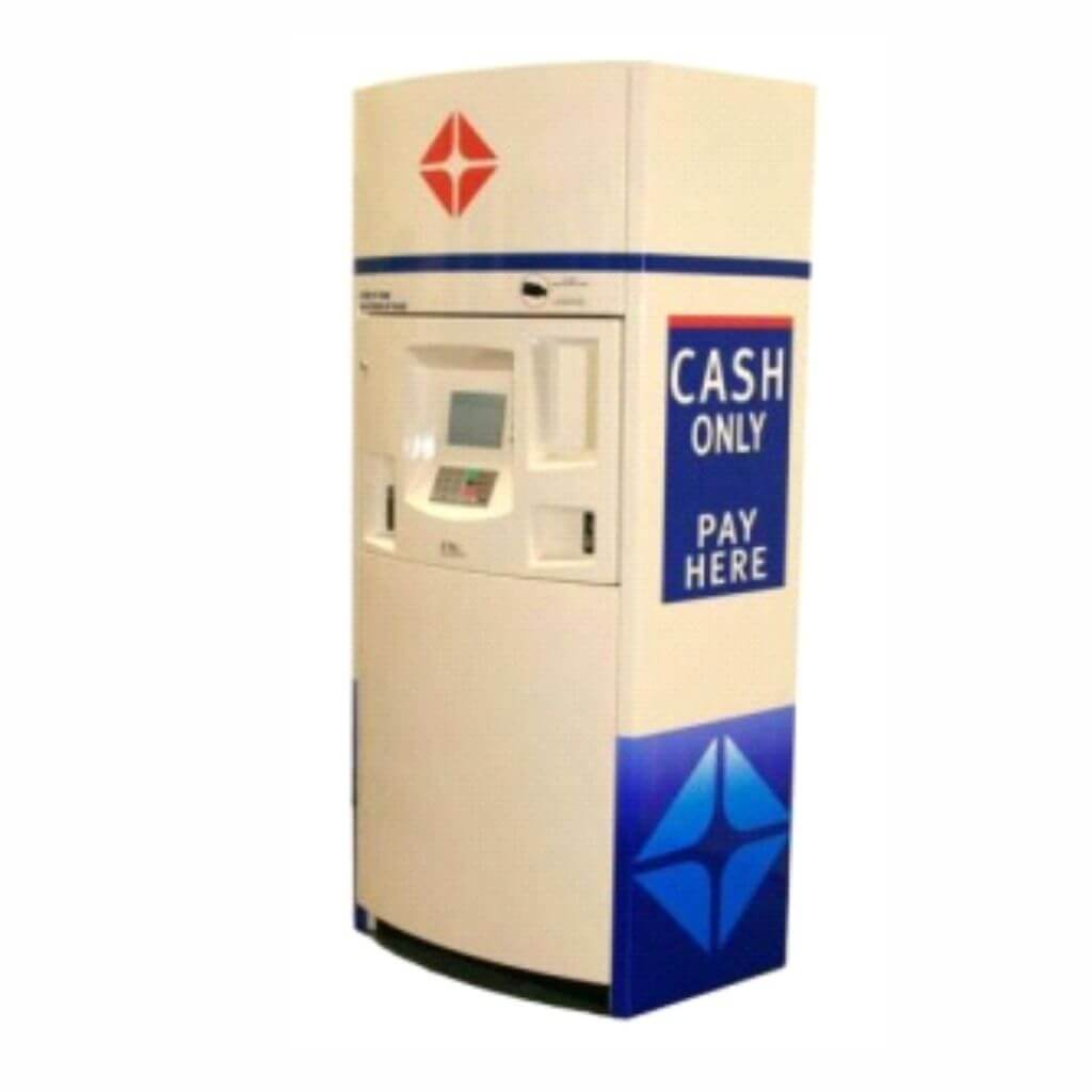 Gas Station Payment Kiosk